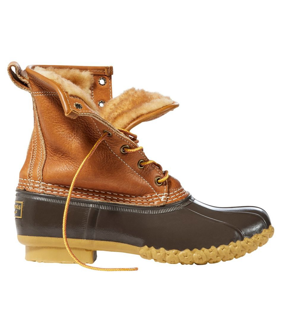 L.L. Bean Shearling-Lined Duck Boot