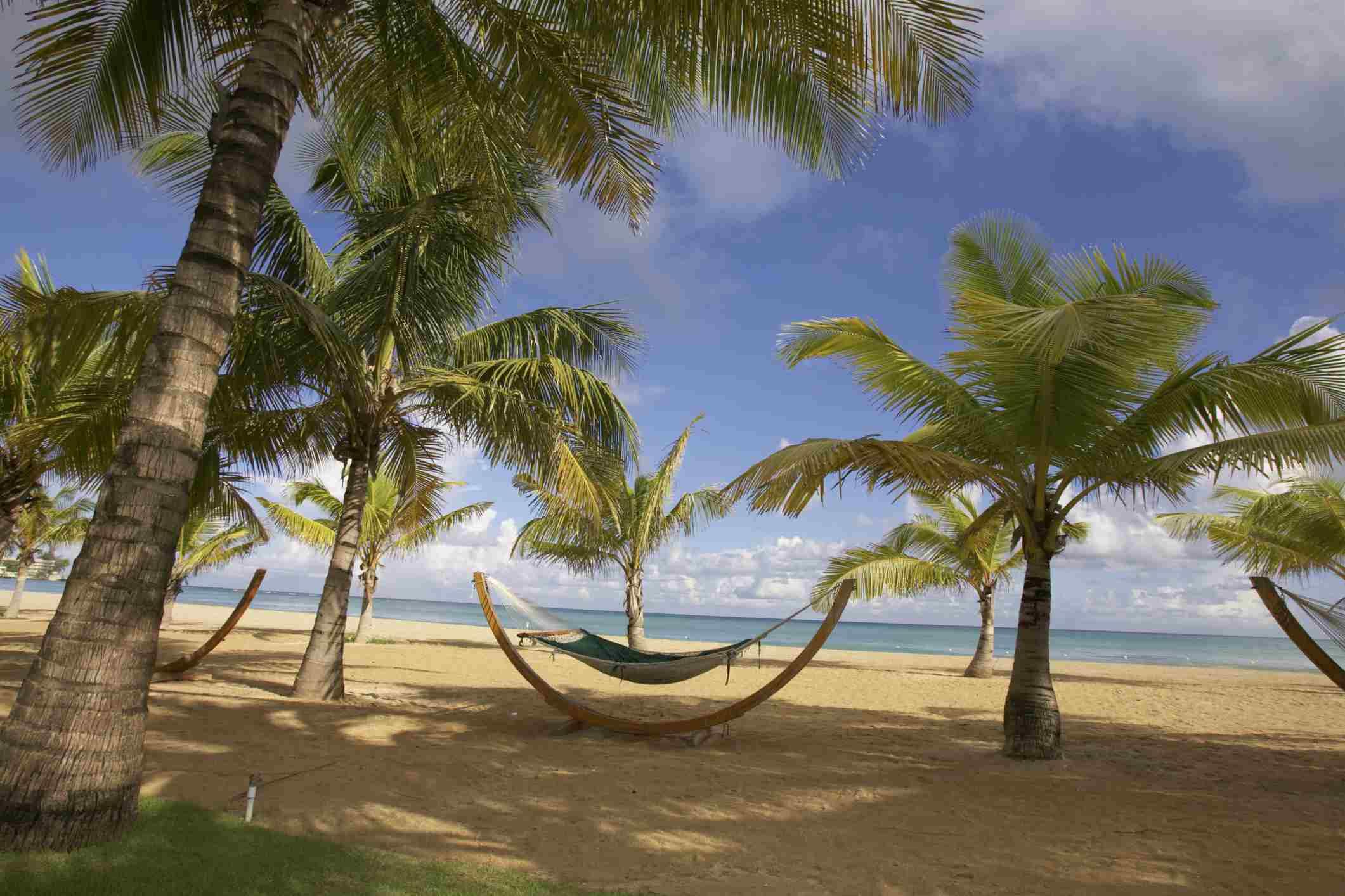 Isla Verde Beach in San Juan