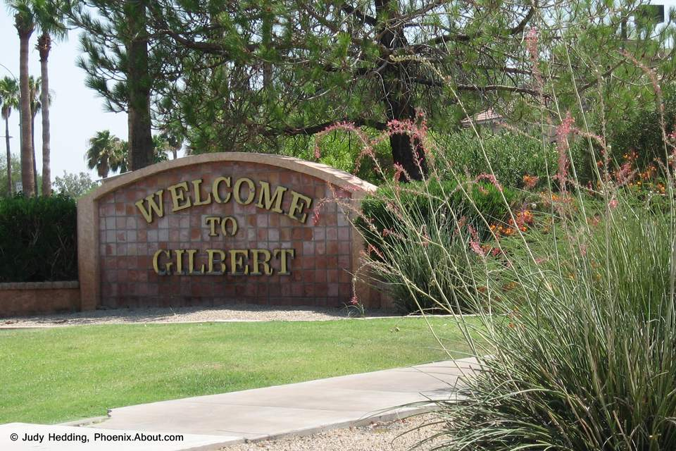 Welcome to Gilbert, Arizona