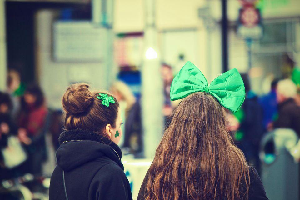 St. Patrick's Day celebrations.