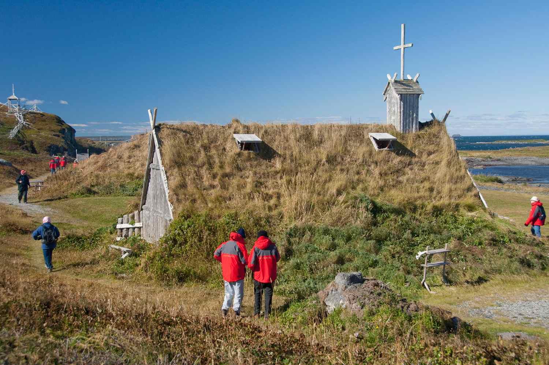 Viking Village, replica of Norse church