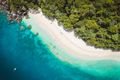 Aerial view of Nudey Beach