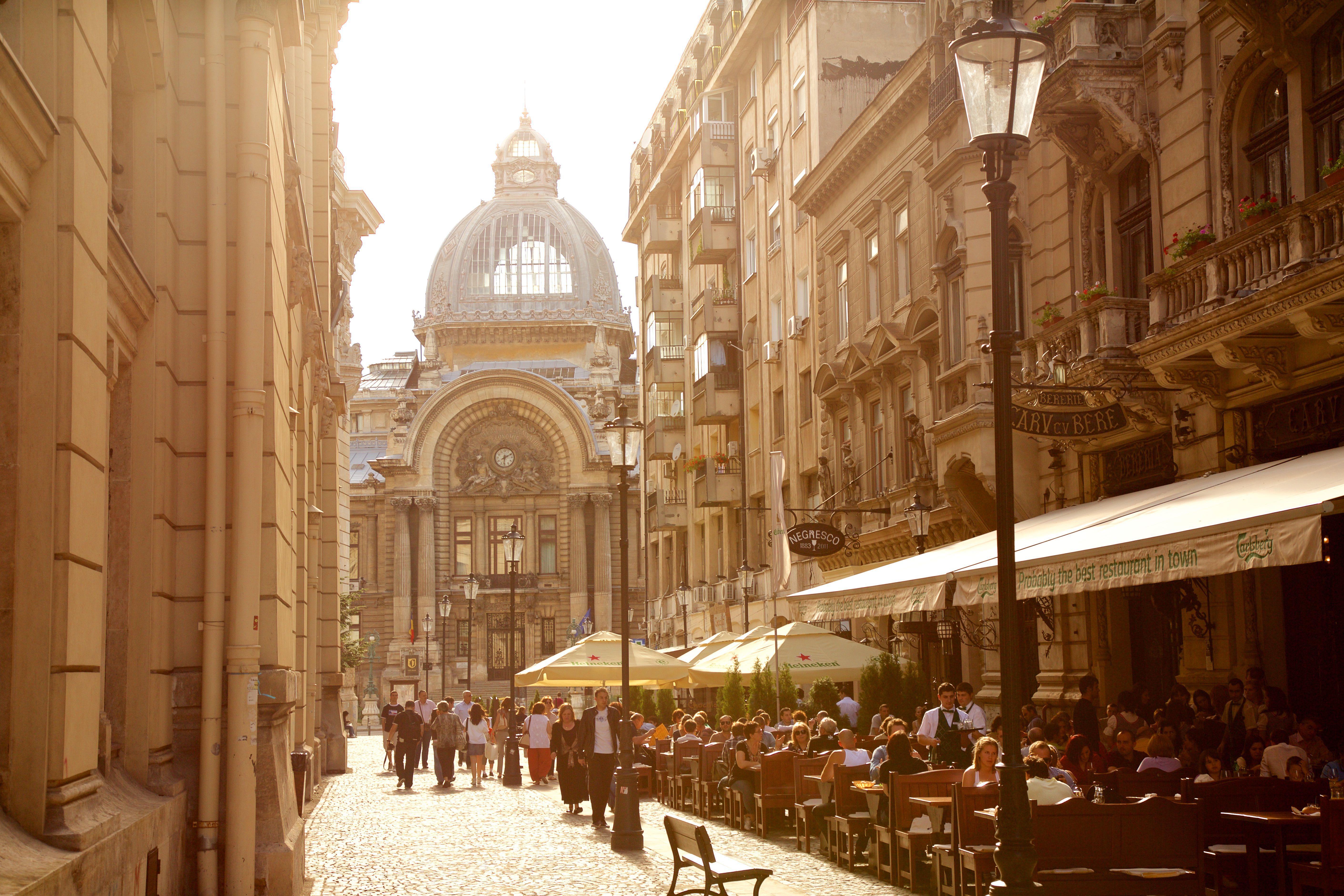 Ciudad vieja de Bucarest, Rumania