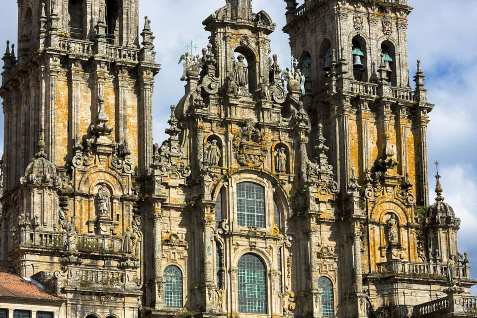 Cathedral de Santiago de Compostela, Galicia, Spain