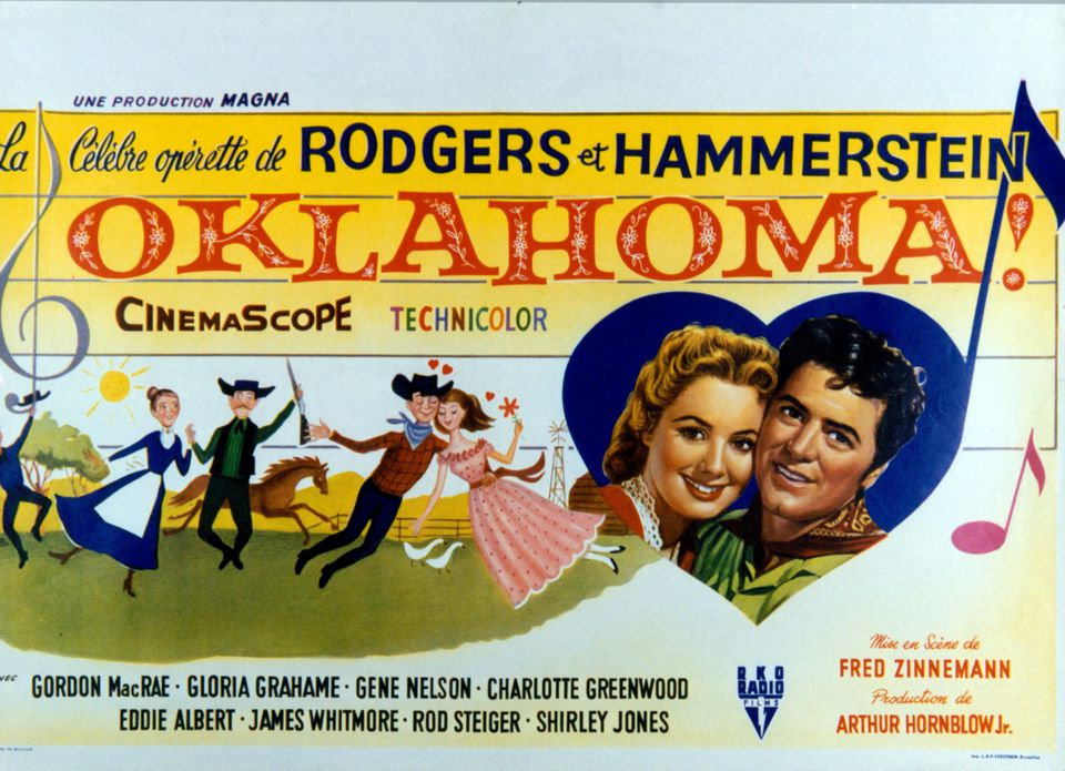 Shirley Jones y Gordon MacRae en 'Oklahoma!'
