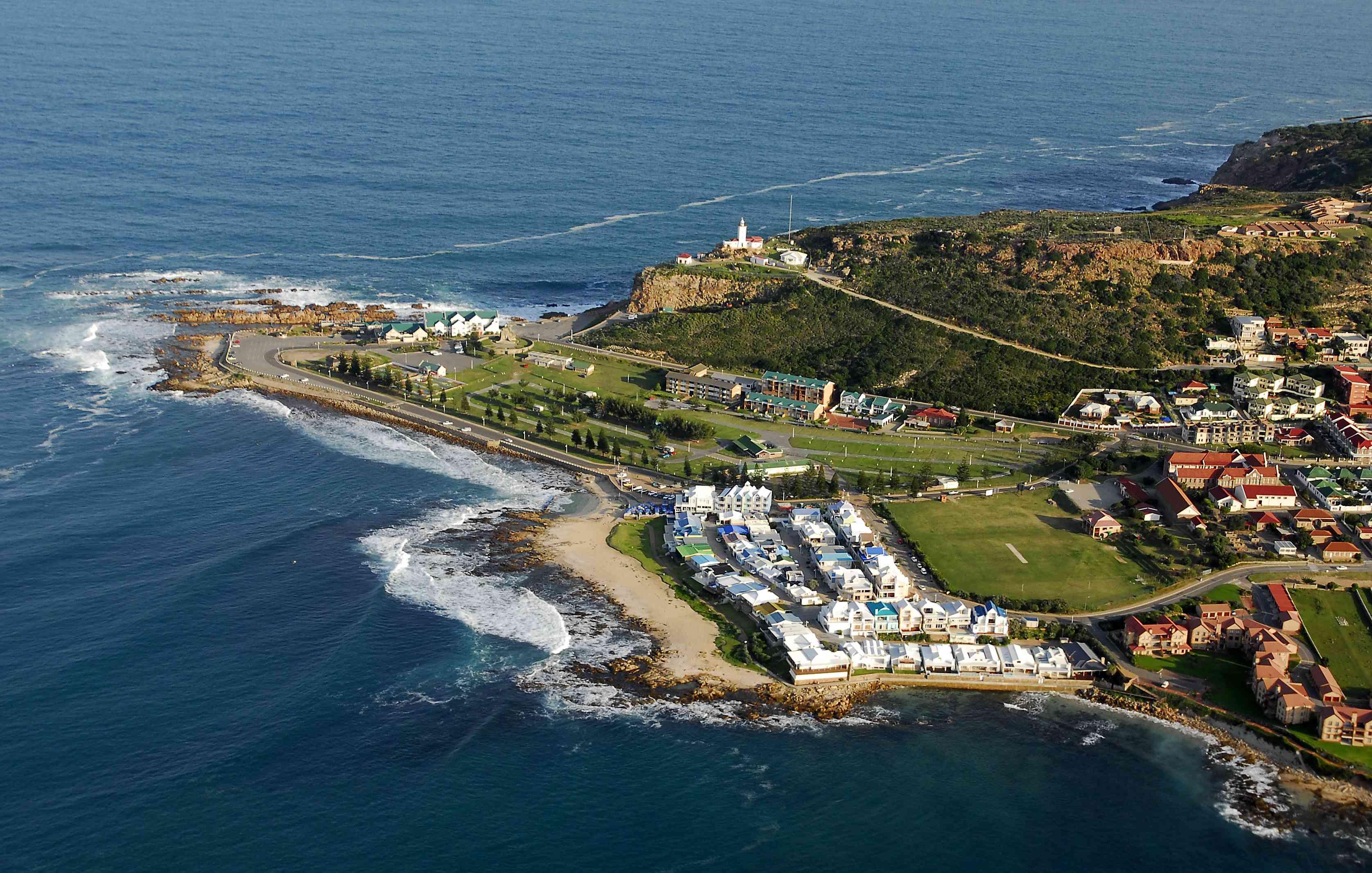 Vista aérea de Mossel Bay, Sudáfrica