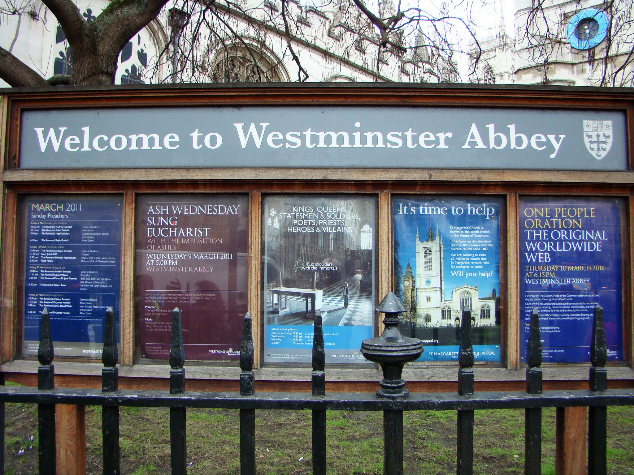 Westminster Abbey is among the most popular attractions in London.