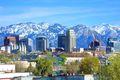 Downtown Salt Lake City Utah