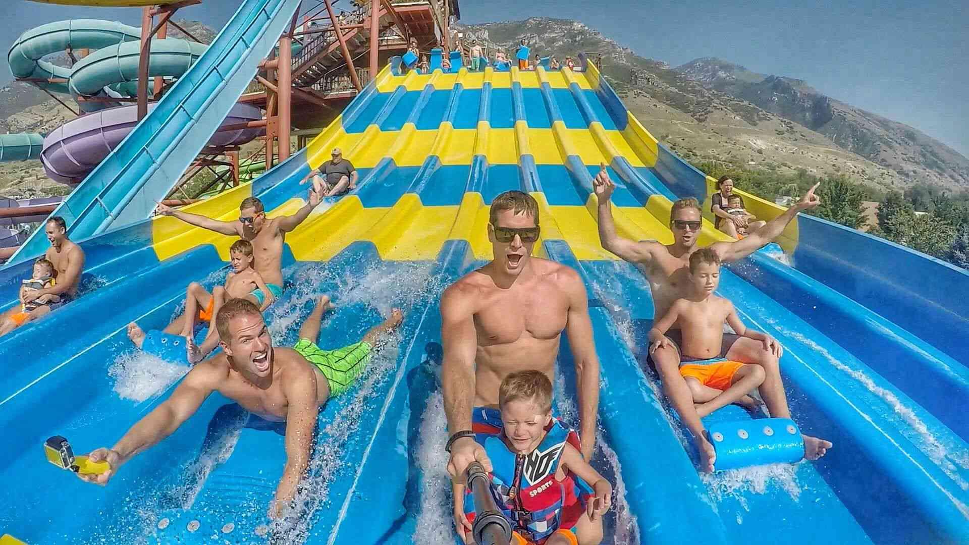 Splash Summit water park in Utah