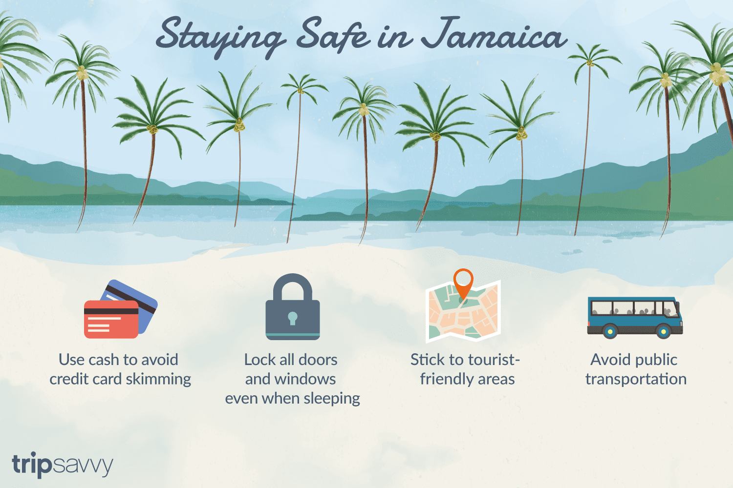 How to Stay Safe and Secure on a Jamaica Vacation