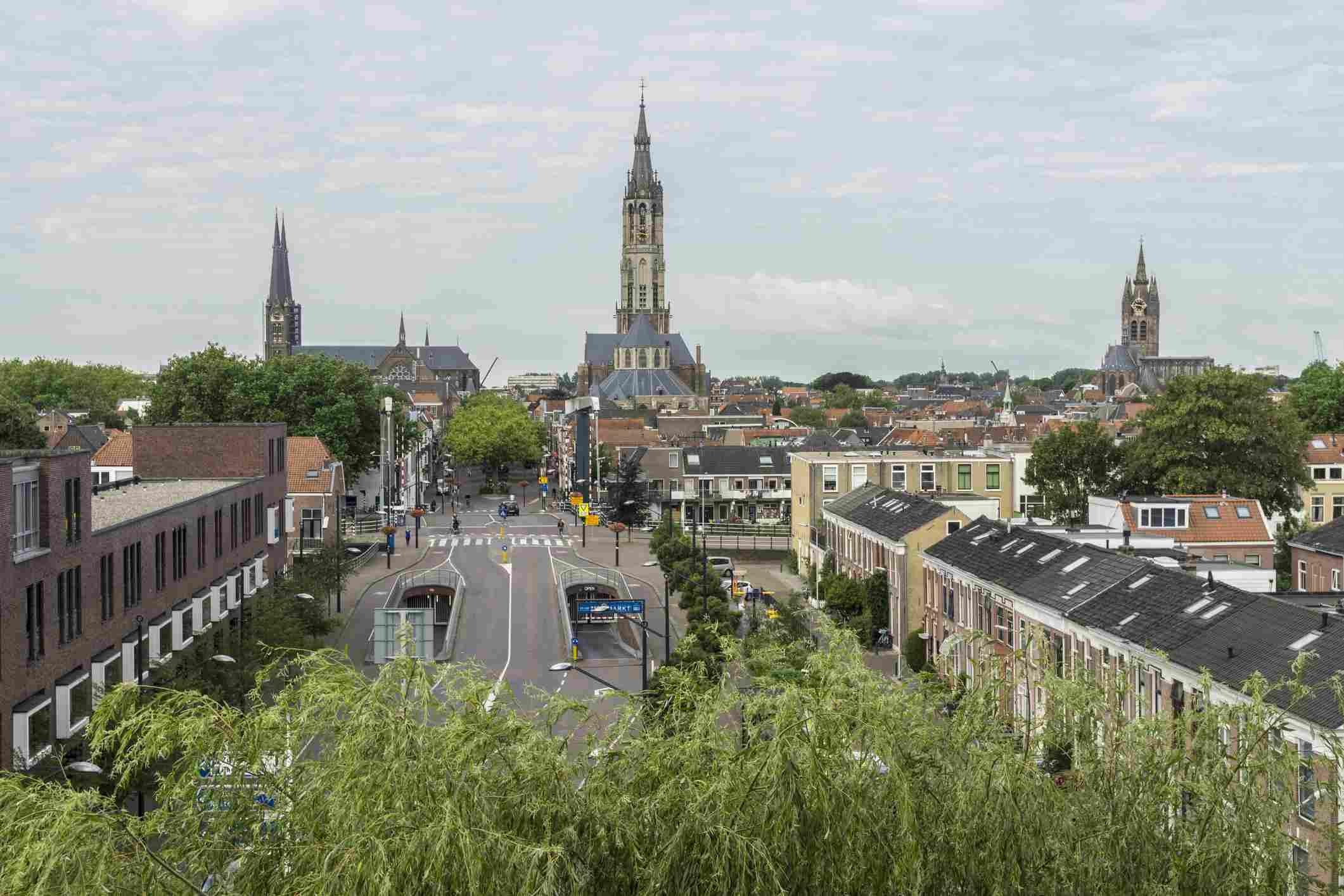 Delft, Netherlands view
