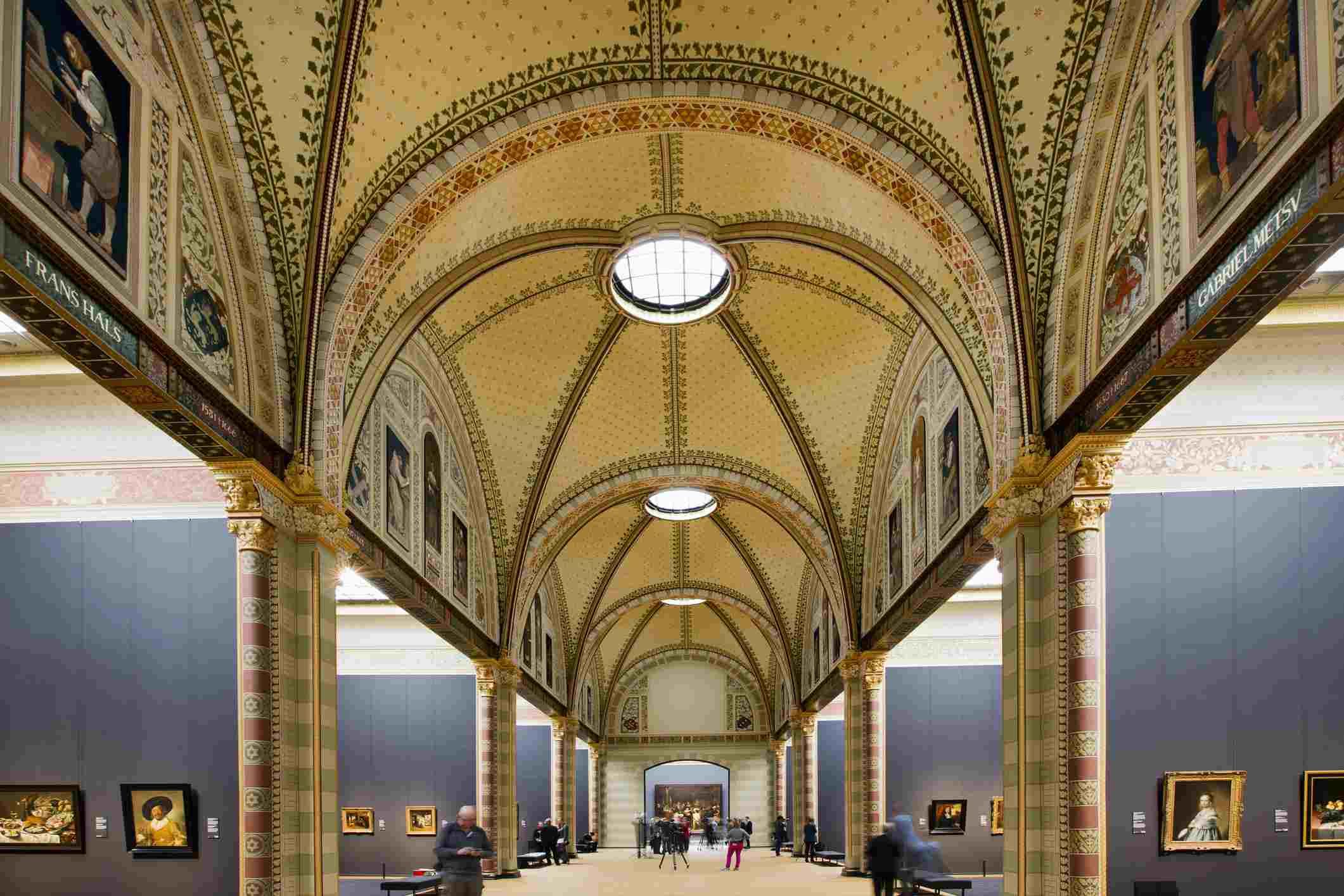Países Bajos, Amsterdam, Rijksmuseum, Galería Of Honor