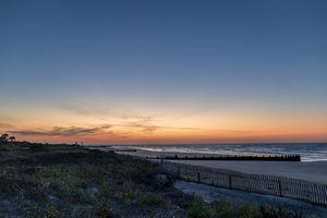 Sunrise at Folly Beach