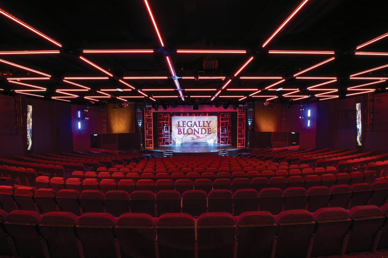 Getaway Theater on the Norwegian Getaway cruise ship