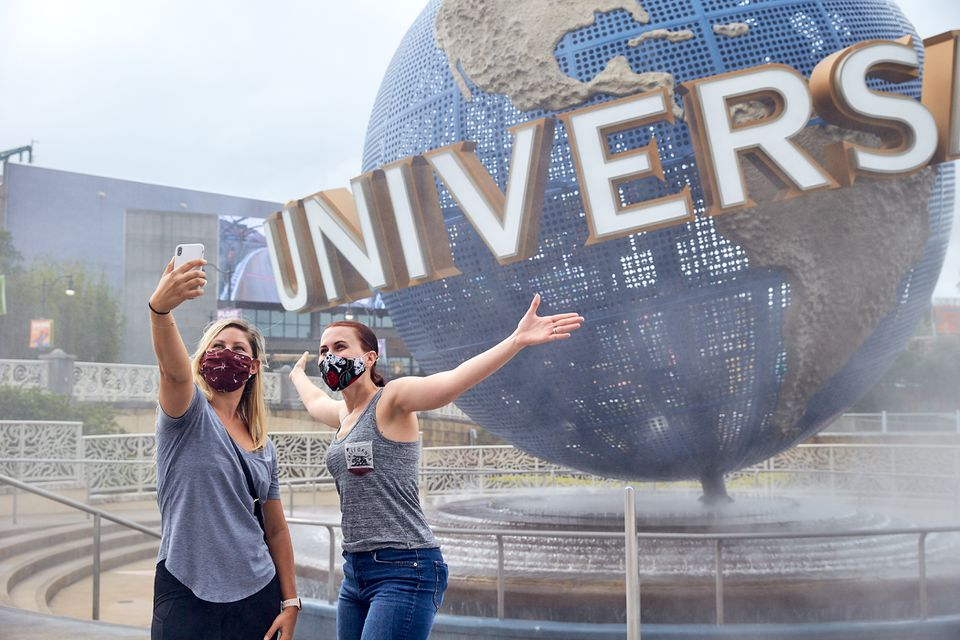 Visitng Universal Orlando during the pandemic