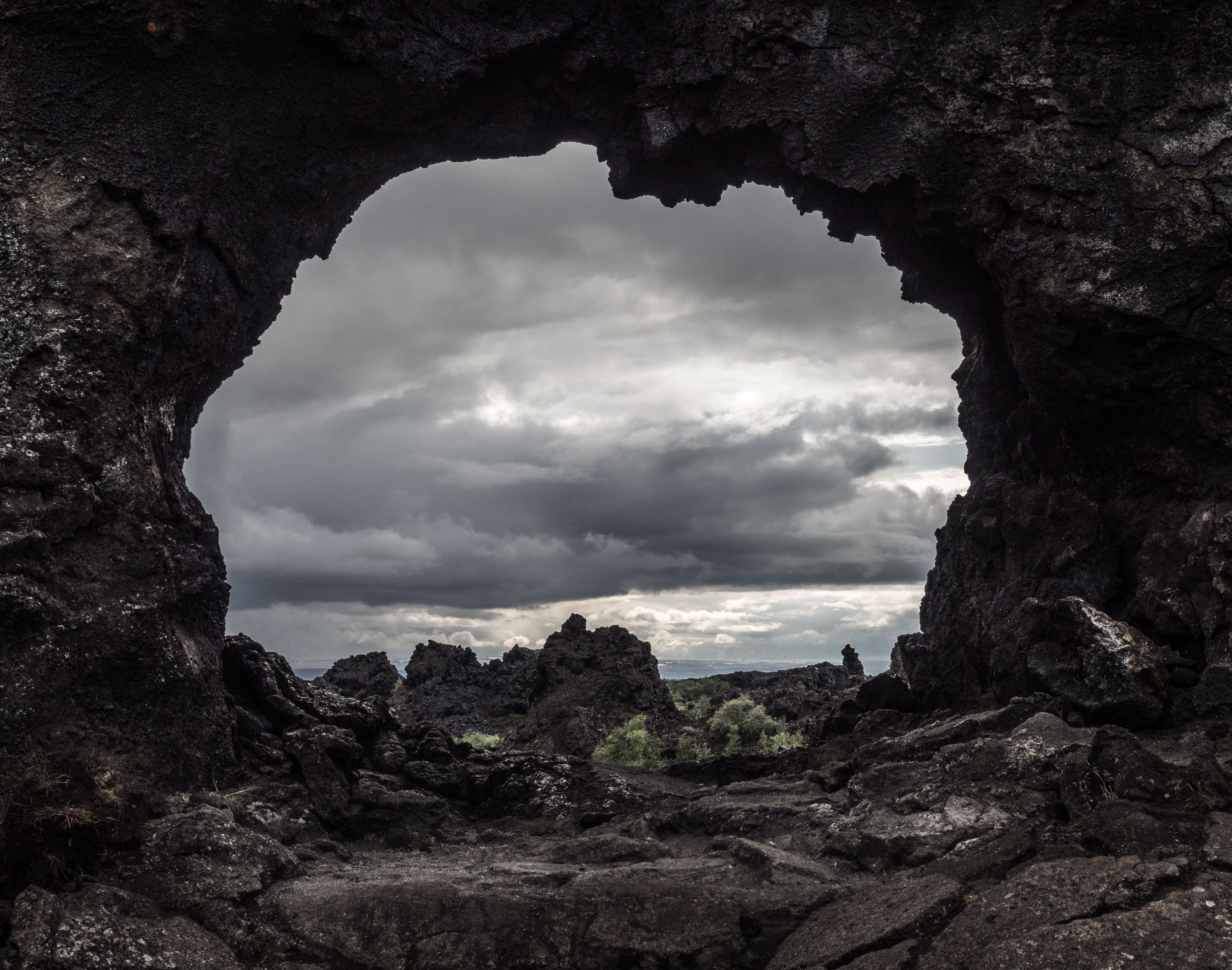 Dimmuborgir en Islandia