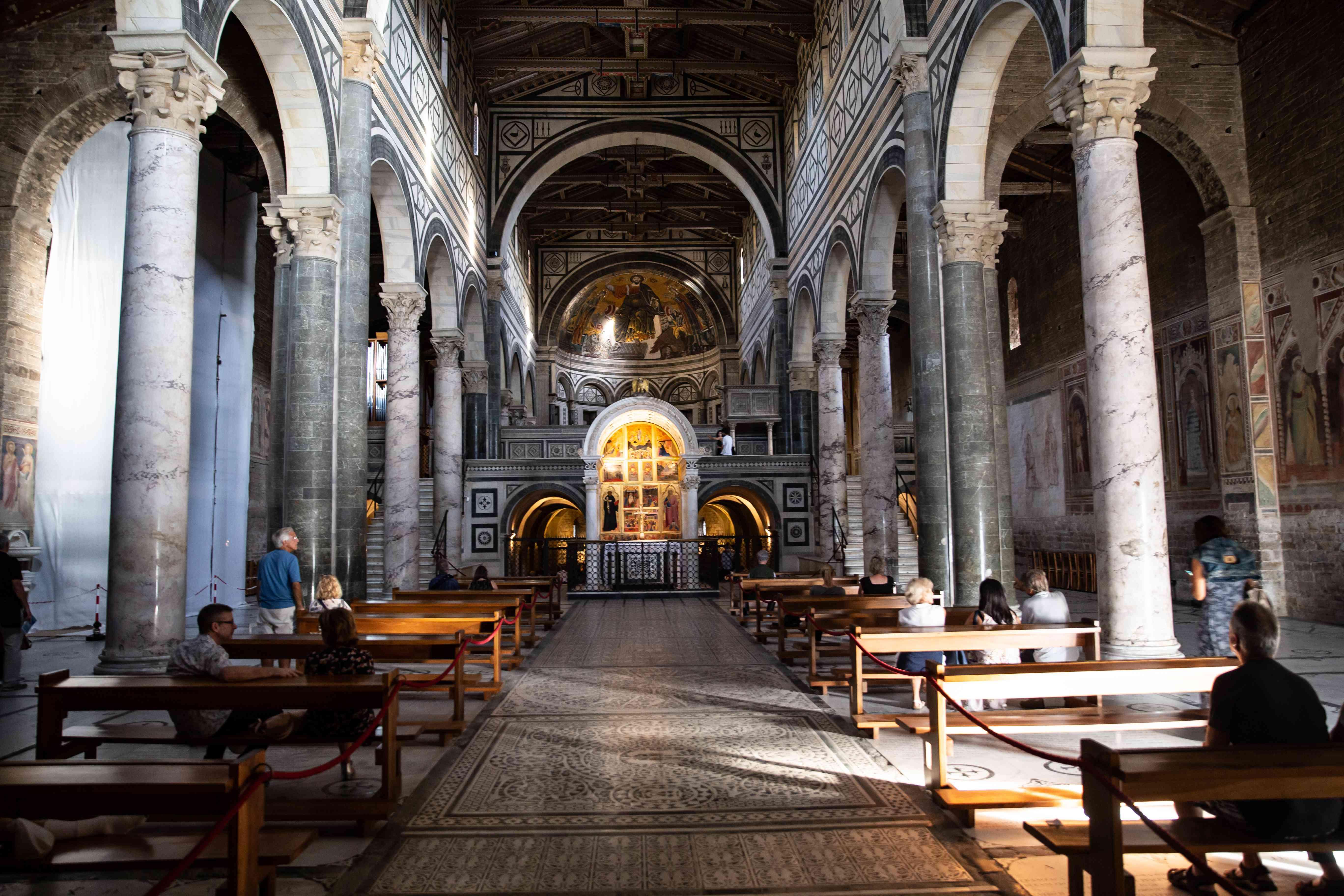 San Miniato al Monte Abbey, Florence, Italy