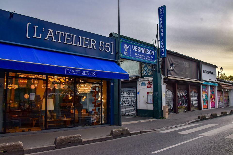 Flea Market in Paris, France