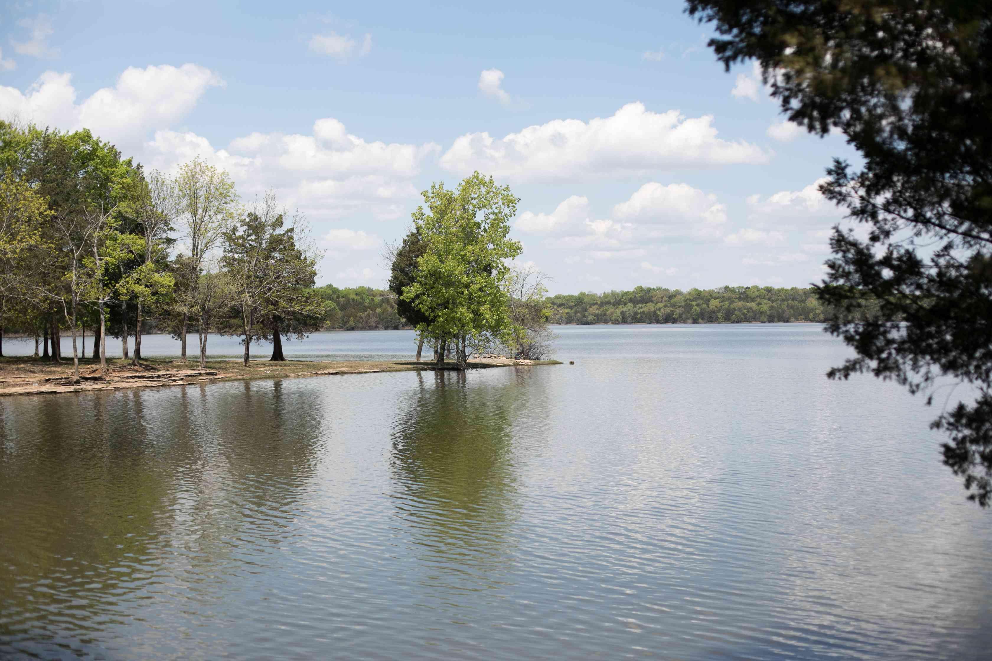 Percy Priest Lake in Nashville