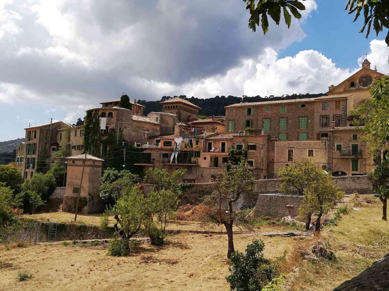 Ciudad de Valldemossa en Mallorca