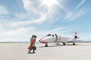 JSX private jet