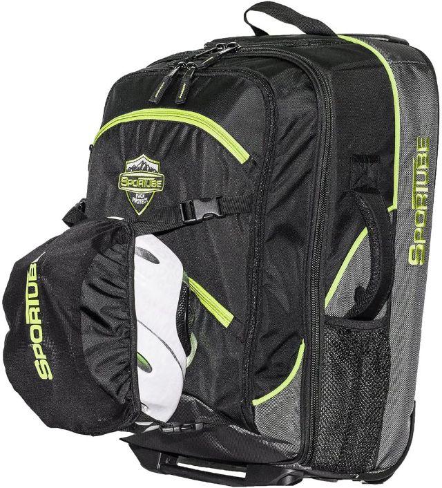 Sportube Cabin Cruiser Wheeled/Padded Carry On Boot Bag