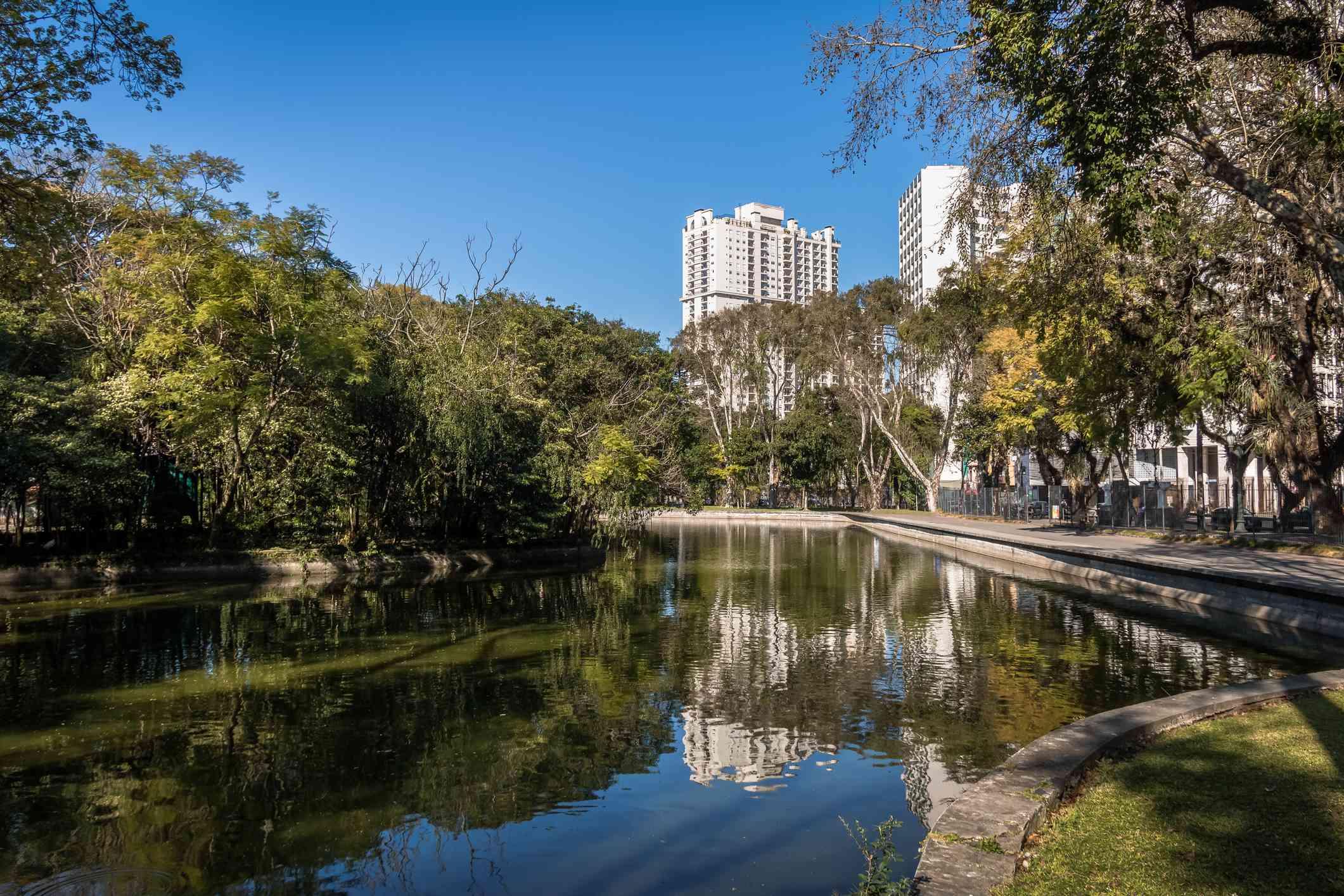 Parque Passeio Publico - Curitiba, Paraná, Brasil