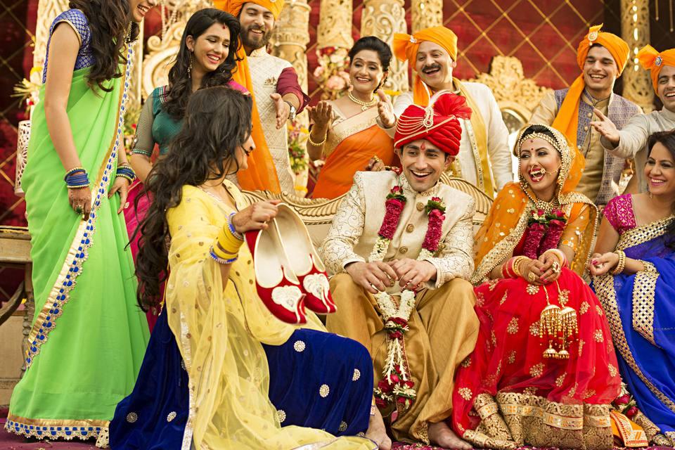 Indian wedding.
