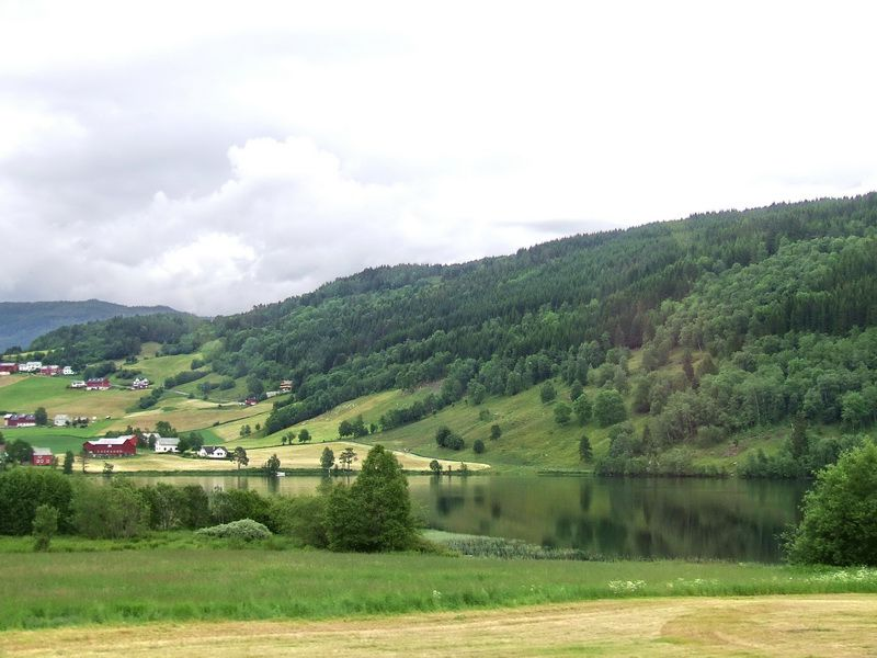 Countryside near Voss, Norway
