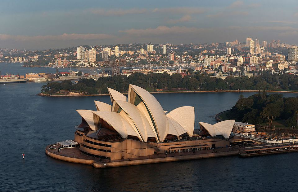 the top 12 landmarks in sydney australia
