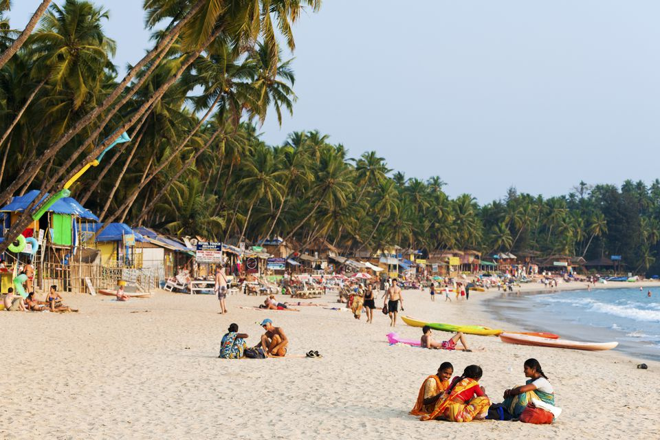 Palolem beach, Goa.