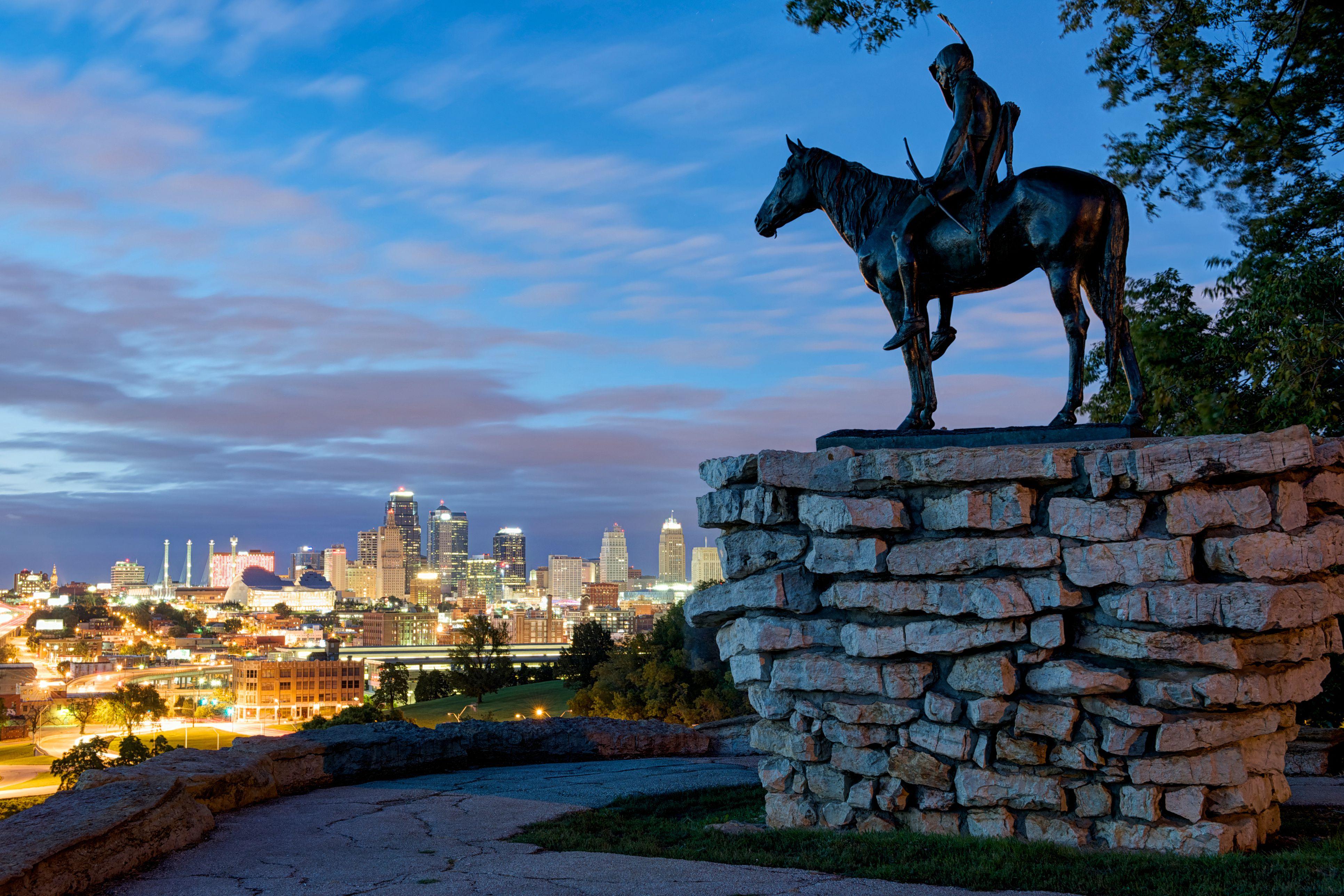 The Scout Statue - Kansas City