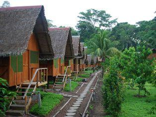 Peruvian jungle lodge