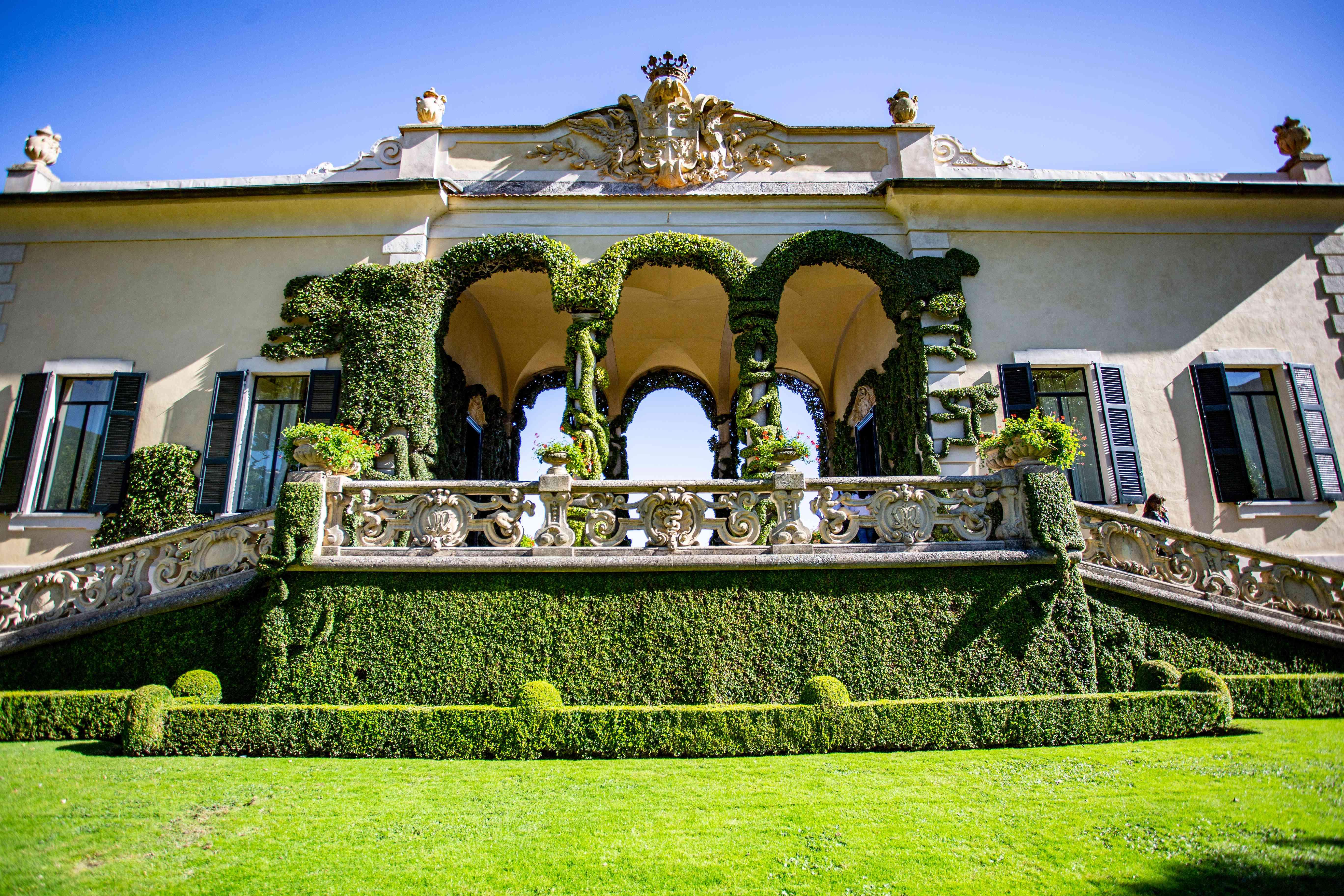 Villa del Balbianello at Lake Como, Lombardy, Italy