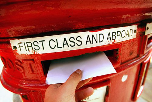 Voting in a US election from overseas is as simple as posting a letter.
