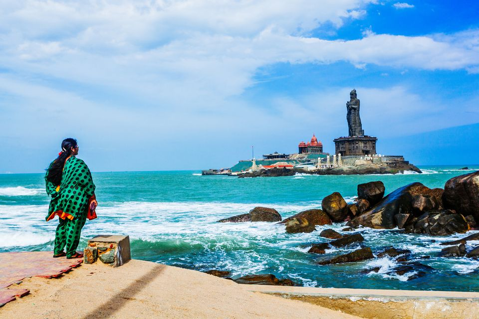 Vivekananda Rock Memorial and Thiruvalluvar Statue, Kanyakumari