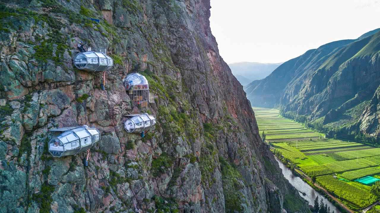 Sacred Valley Via ferrata & zip line / Skylodge Adventure Suites