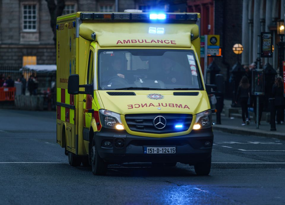 Ambulance in Ireland
