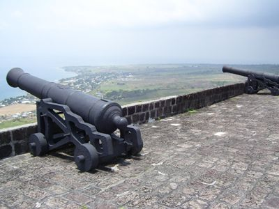 Commanding view from Brimstone Hill