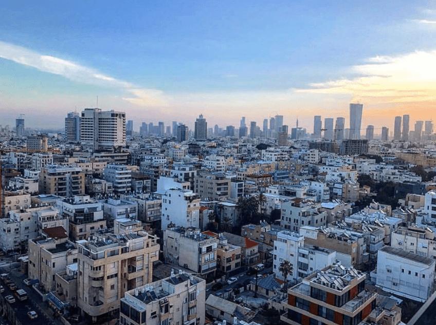 Overlooking Tel Aviv. Photo by: Olivia Balsinger.