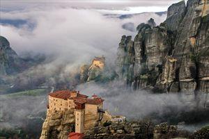 Mountain monasteries of Meteora