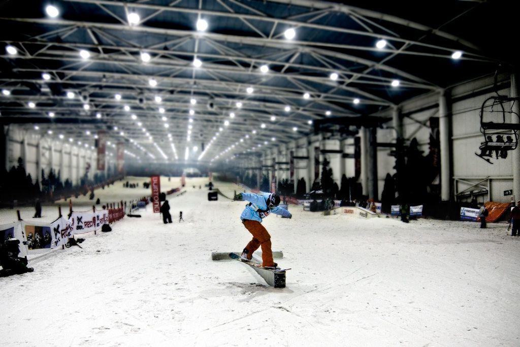 Indoor skiing near Madrid