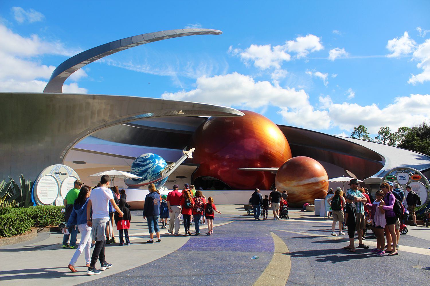 Epcot's Thrilling Mission: SPACE
