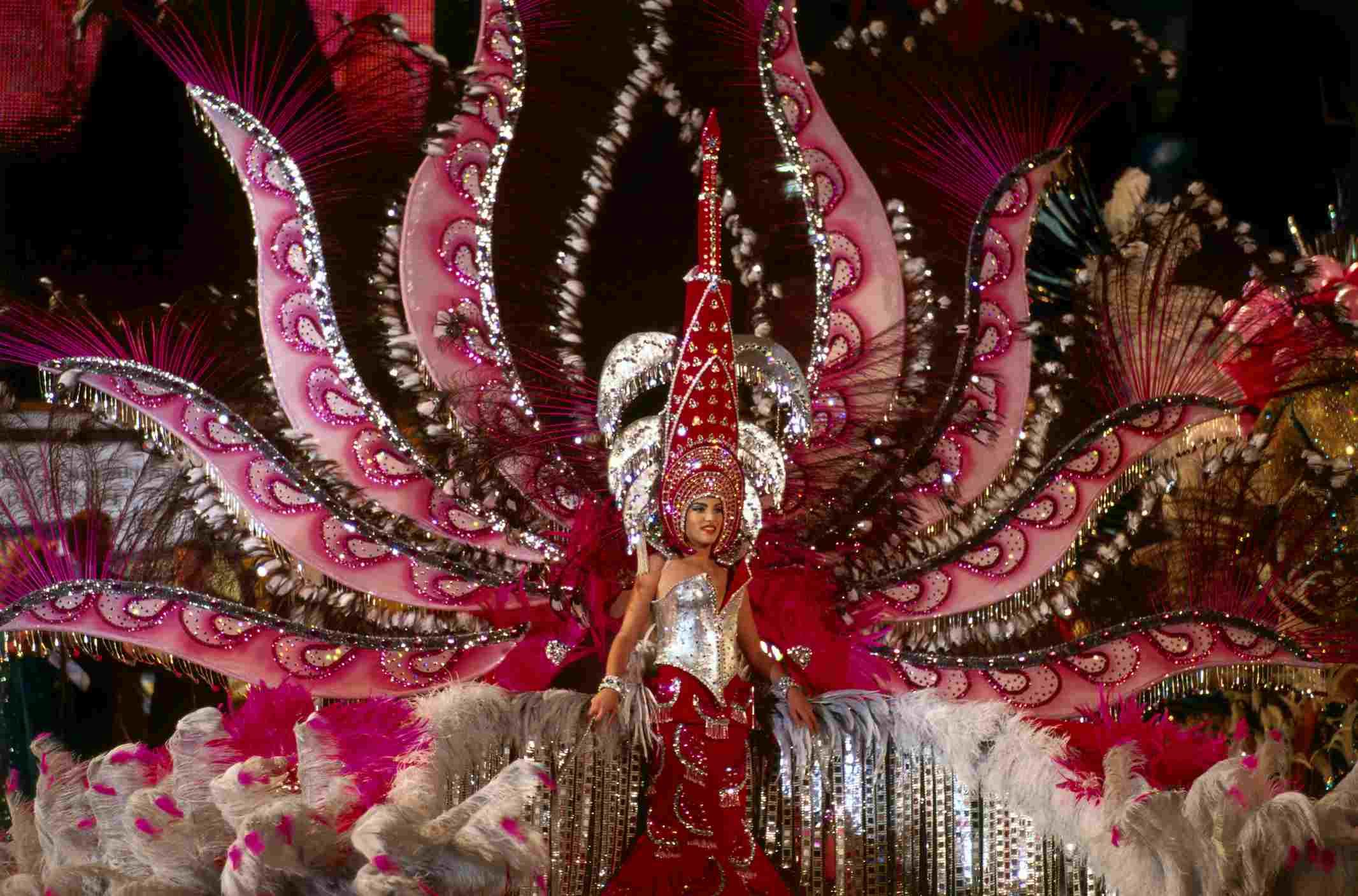 Election of the Carnival Queen, Santa Cruz de Tenerife, Tenerife, Canary Islands, Spain, Europe