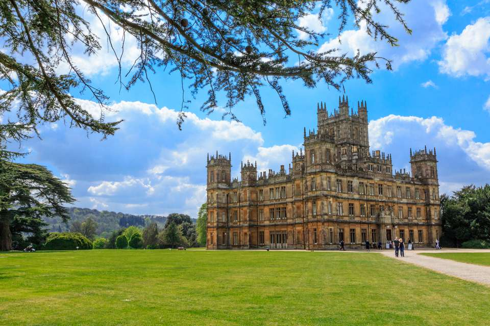 Highclere Castle, Hampshire, UK
