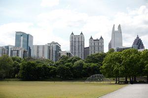 Piedmont Park in Atlanta, GA