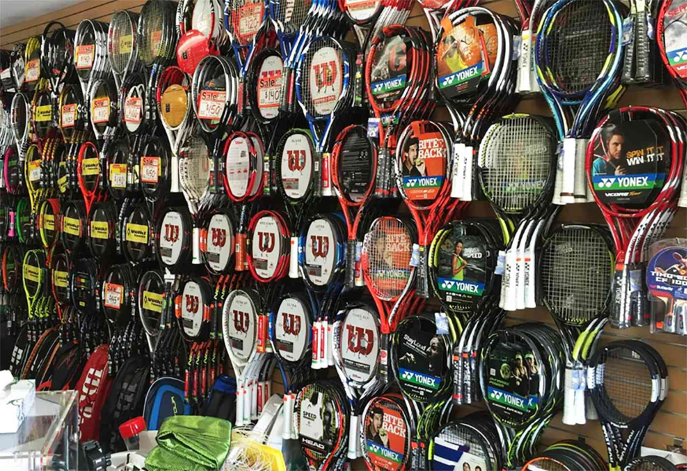 Ray's Tennis Shop in San Digeo