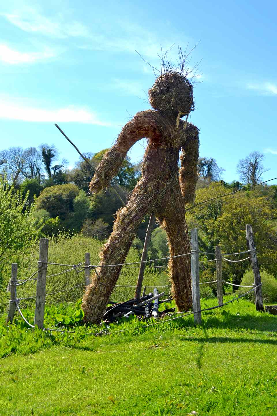 Wickerman at Castell Henllys