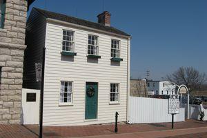 Mark Twain Boyhood Home in Hannibal, Missouri