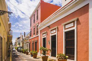 A street in Old San Juan, Puerto Rico